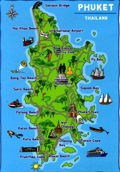 Image result for phuket map